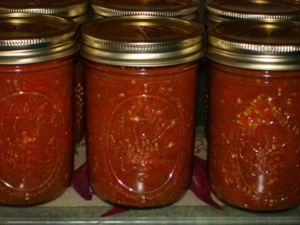 This is easy to make and thicken after opening for enchiladas, or just use as a Mexican flavored tomato sauce.