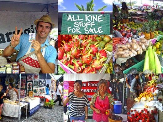 Big Island Sunday Farmers Markets