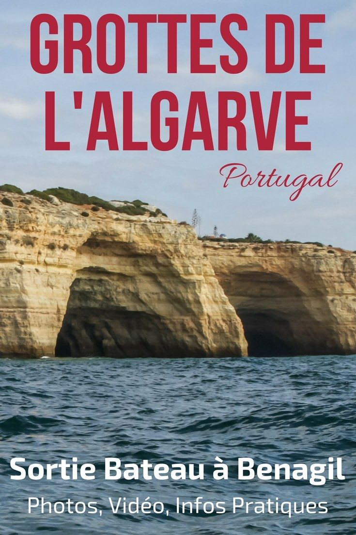Pin Grotte de Benagil Portugal - Grotte Algarve - Plage Benagil - Portugal Algarve Travel