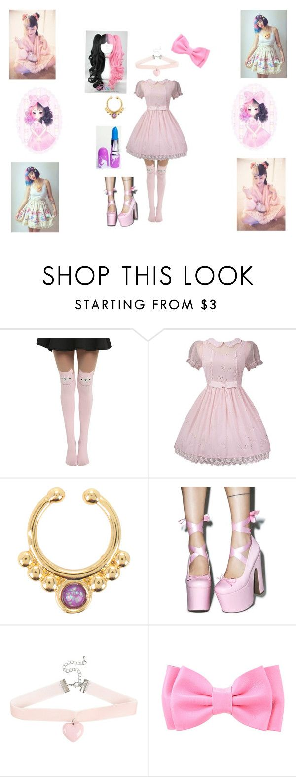 """""""✖️ Melanie Martinez ✖️"""" by crybaby8 ❤ liked on Polyvore featuring Sugarbaby, Dollhouse and Lime Crime"""