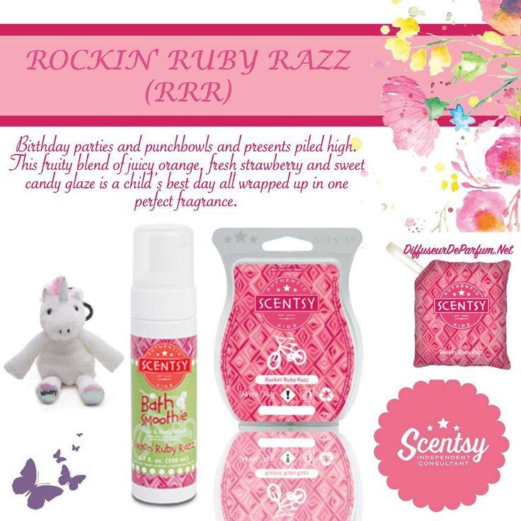 Rockin Ruby Razz scentsy kids scent  https://shelbyledman.scentsy.us/