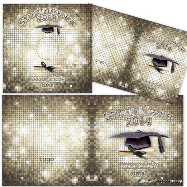 CD / DVD Szablony - Studniówka 03 - 29.00PLN : ArtGrafic, Gotowe rozwiazania dla fotografii/Szablony graficzne , dodatki