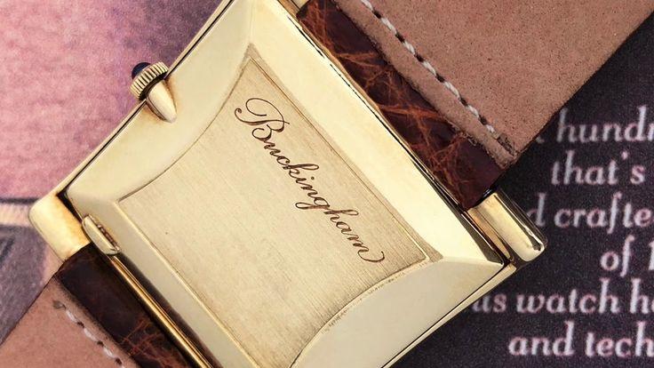 Vintage timepieces - Corum Buckingham