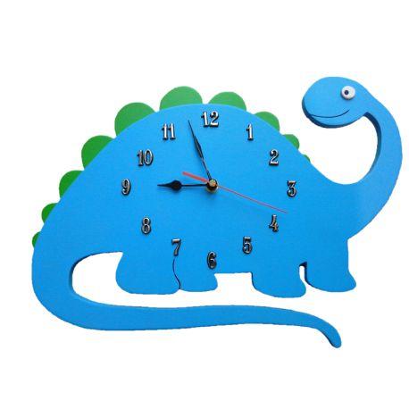 Wykonany ręcznie w Polsce, Zegar Dinozaur - Ścienny Zegar do Pokoiku dla Chłopca  Tarczę zegara stanowi niebisko-zielony dionazaur - Idealny prezent dla chłopca  Sprawdźcie sami:)  http://www.niczchin.pl/zegary-scienne-dla-dzieci/2224-dinozaur-scienny-zegar-do-pokoiku-dla-chlopca.html  #zegardinozaur #zegardopokoiku #zegardlachlopca #zegarscienny #zabawki #niczchin #krakow