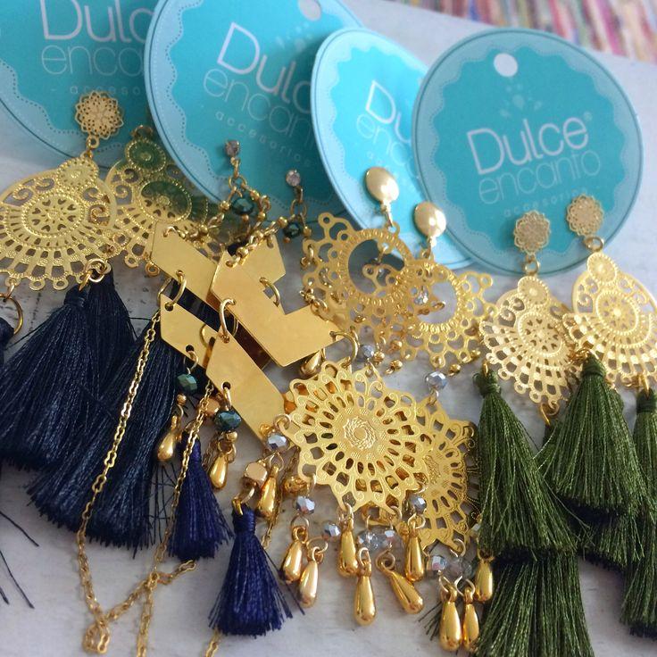 Tienda Online de Accesorios para mujer www.dulceencanto.com #accesorios #bisuteria #moda #Aretes