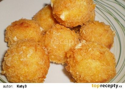 Smažené sýrové koule recept - TopRecepty.cz