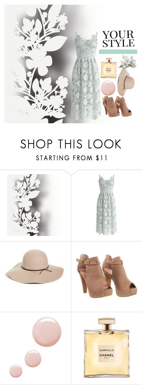 """Flowery dress 🌺"" by lucy-hatch123 ❤ liked on Polyvore featuring Élitis, Chicwish, Halogen, Topshop and Pussycat"