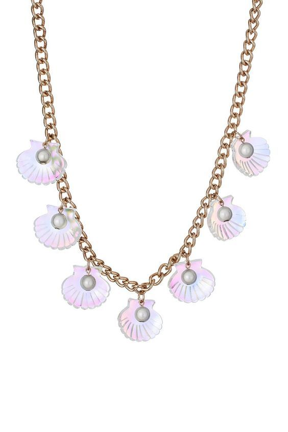 Scallop Shells Necklace £145 - SS14