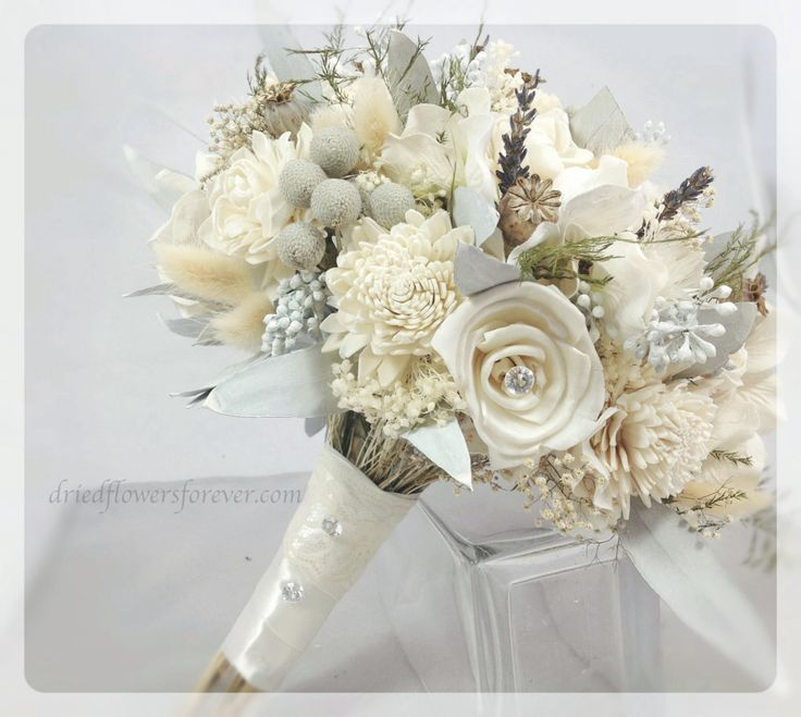 coach outlet vacaville Wedding Bouquet   Silver Ice Collection with Gem Accents   Keepsake