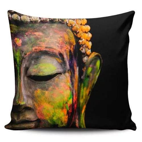 Cojin Decorativo Tayrona Store Cara Buda 03 - $ 43.900
