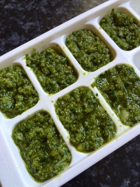 Homemade Basil Pesto with just 4 ingredients