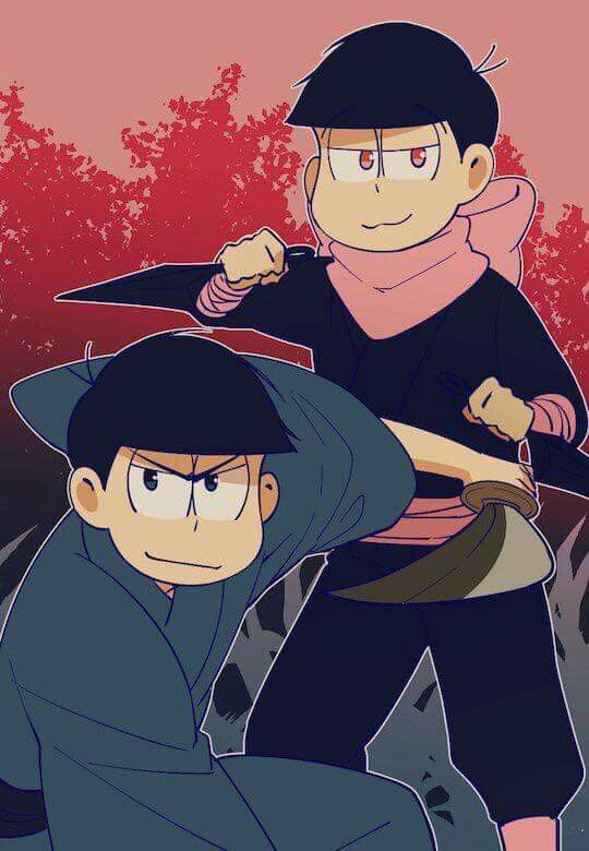 Karamatsu & Todomatsu