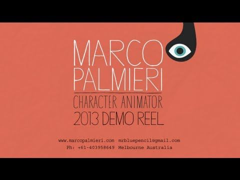 Marco Palmieri 2013 Character Animation Demo Reel - YouTube