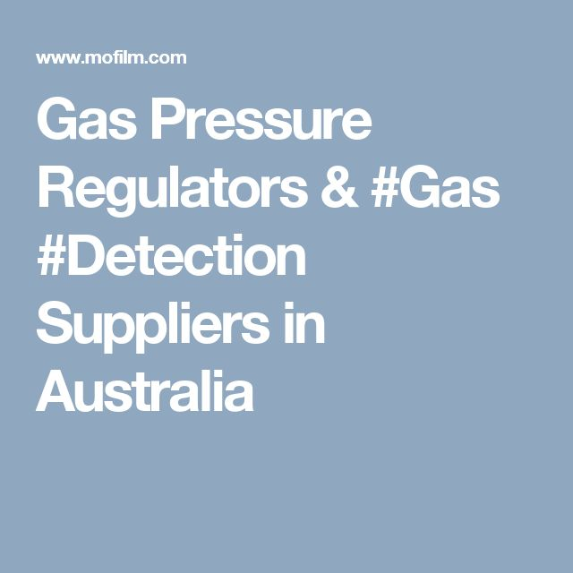 Gas Pressure Regulators & #Gas #Detection Suppliers in Australia