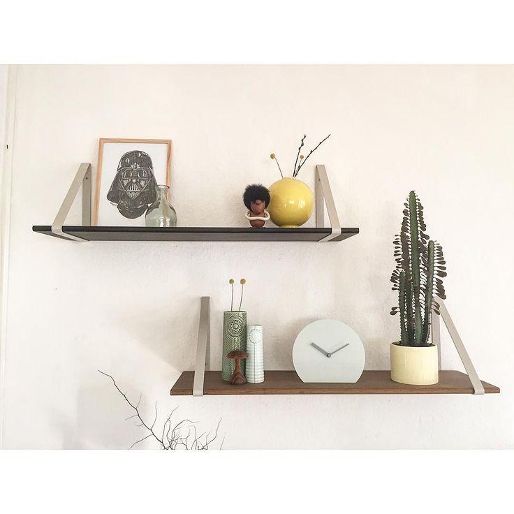Ferm LIVING Wooden Shelfs And Metal Shelf Hangers: Https://www.fermliving