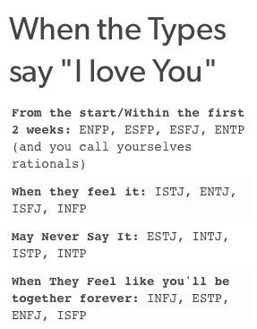enfj infp dating I'm an enfj and have been dating an infp guy for around 3 years now (apparently enfj - infp people are the best matches according to.