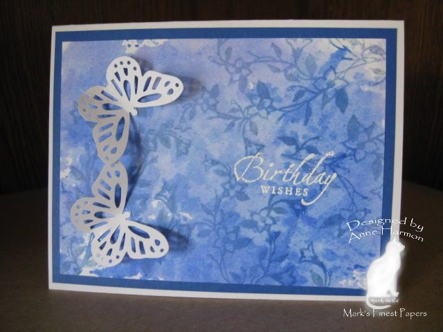 ZIPLOC Smoosh TLC299 Butterfly Birthday Wishes by jdmommy - Cards and Paper Crafts at Splitcoaststampers