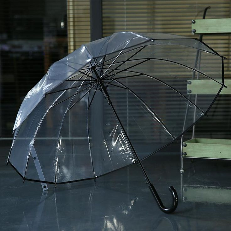 Fancy Check it out Automatic transparent Men Women Kids Umbrella