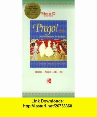 Video on CD to accompany Prego (9780073015972) Graziana Lazzarino, Janice Aski, Andrea Dini, Maria Cristina Peccianti , ISBN-10: 0073015970  , ISBN-13: 978-0073015972 ,  , tutorials , pdf , ebook , torrent , downloads , rapidshare , filesonic , hotfile , megaupload , fileserve