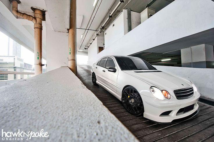 The Evolvement Continues // Calcite White W203 Mercedes