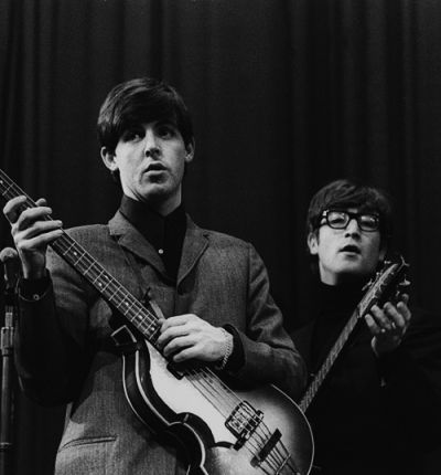"epstien: "" Paul McCartney and John Lennon, Saturday Club, BBC, 17 December 1963 """