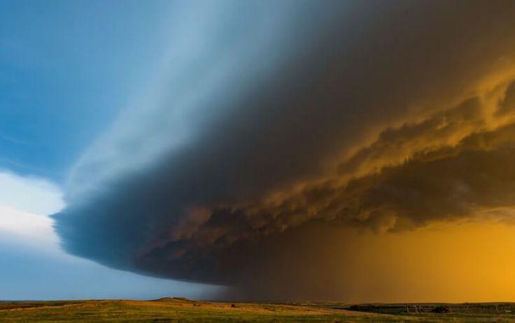 Красивое таймлапс видео штормов и бурь
