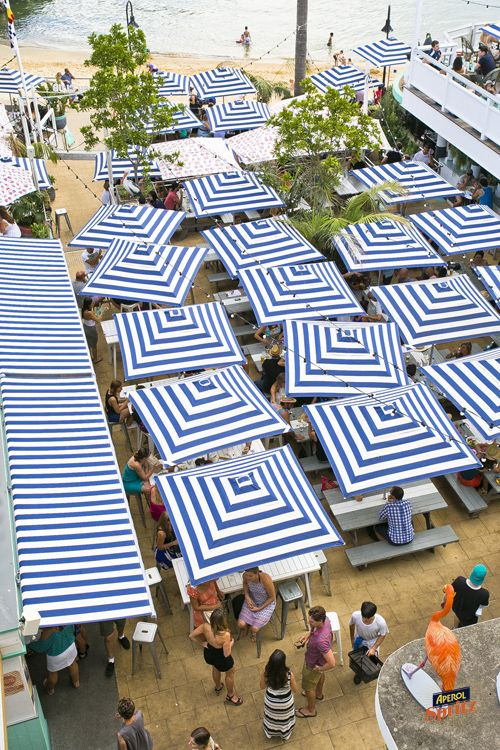 We love the new layout of the Watsons Bay Beach Club. #funsundays #event #photography by thepb.com.au