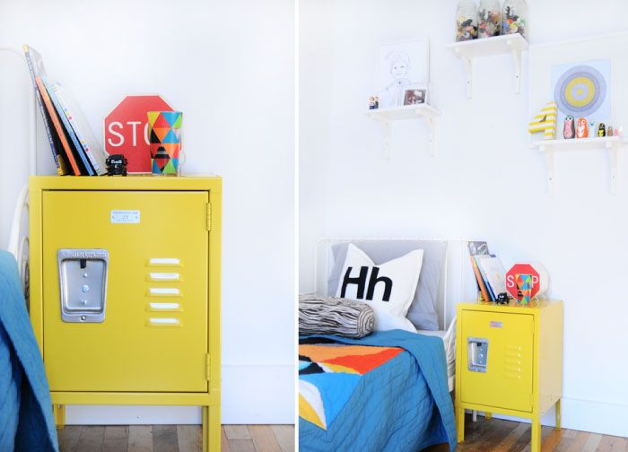 How To Use Vintage Lockers In Your Home Decor - Dolen Diaries