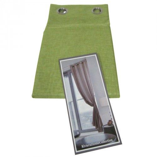 http://www.carillobiancheria.it/novita-tenda-casa-arredo-moderna-1-telo-140x290cm-con-borchie-kibra-verde-f048.html #carillolist