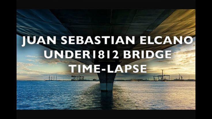 Juan Sebastian Elcano under 1812 Constitution Bridge Time-Lapse