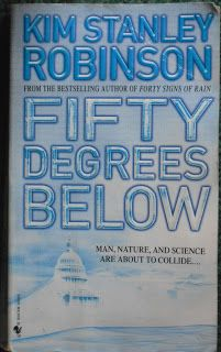 Books and Quilts: Fifty Degrees Below by Kim Stanley Robinson