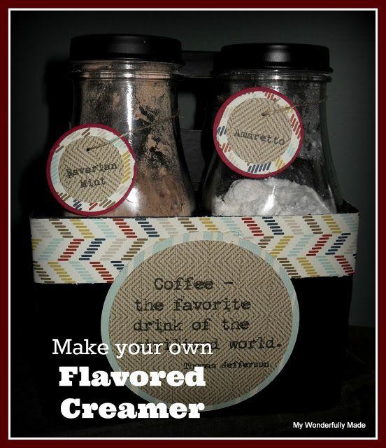 """Wonderfully Made"": Homemade Flavored Creamer Gift"