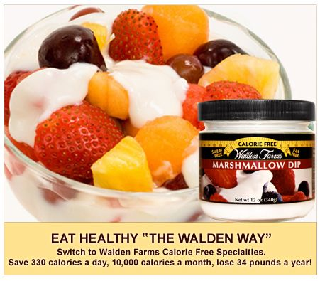 Walden Farms: Marshmallow Dip  For anyone watching their calories, this is an amazing company!