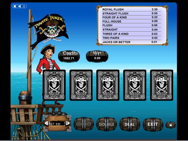 Buy Video Poker game for Online Casino - Pirate Video Poker Videopoker card