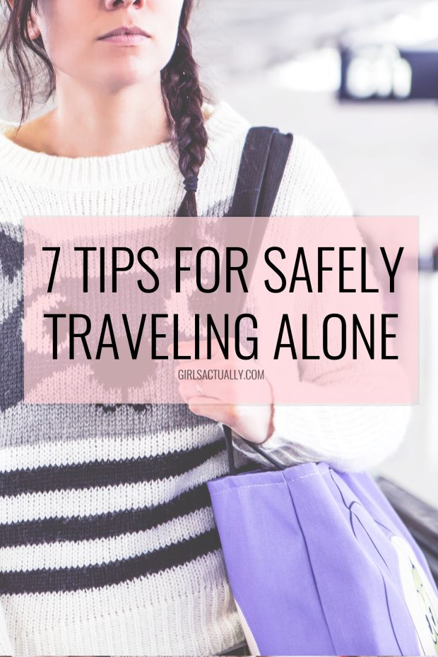 how to travel safely alone