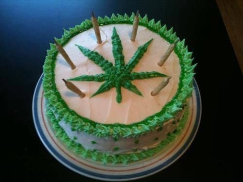 14 best weed cakes images on Pinterest Birthday cake for