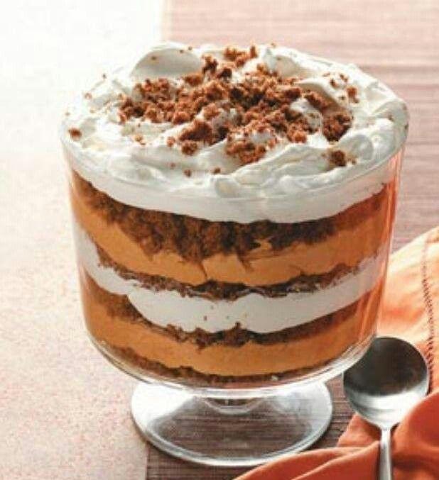 Pumpkin Trifle!! | Favorite Recipes | Pinterest