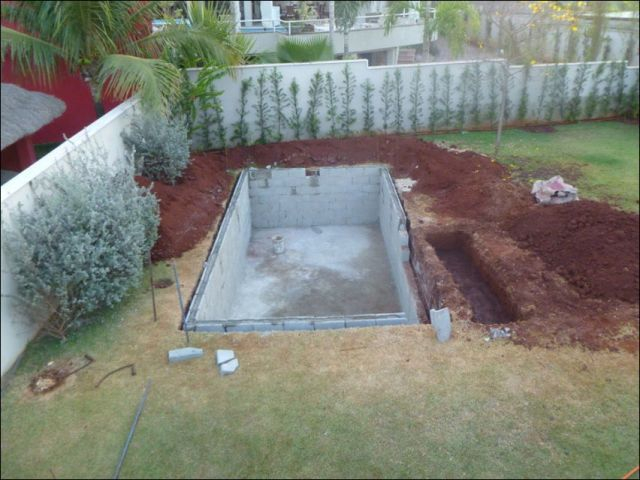 27 best cinder block swimming pool ideas images on - Cinder block swimming pool construction ...