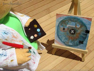 Rosi #customtoy #custom #toy #artdoll #doll #painter #painterkit #handmade #lamebaverde