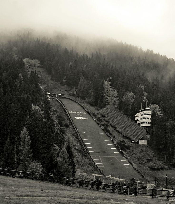 Pictografio: Fog over Wielka Krokiew || Zakopane, Poland