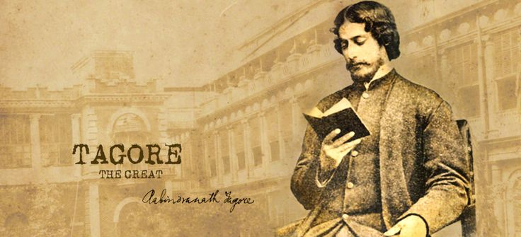Tagore-The International Voice,Designed By : Sanchari Bhattacharya Exclusively