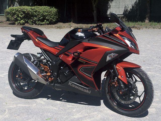 modif ninja 250 hitam terpopuler