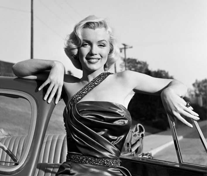 Marilyn Monroe in Los Angeles, April 1953