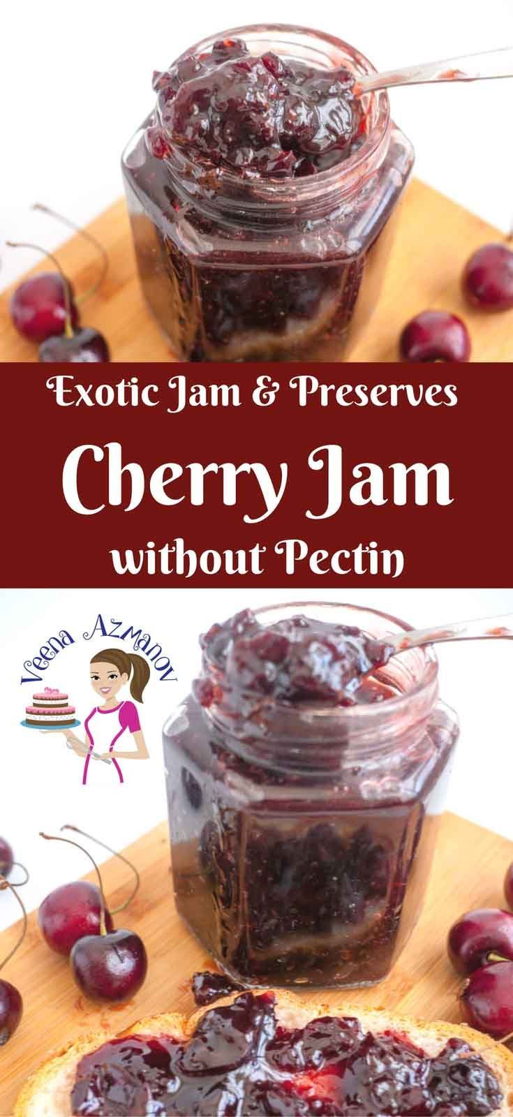 Making jam at home is an absolute treat and worth spending the time on. You don't have to make big batches nor do you have to can every jam. Here I make a small batch of good wholesome homemade all natural Cherry jam without pectin or preservatives and you don't even have to can it to enjoy it.