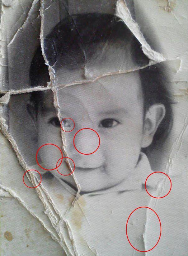 Photoshop Photo Restoration Assistance, Adam