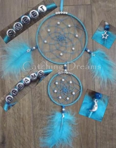 17 best images about dream catcher on pinterest feathers for How to make a double ring dreamcatcher