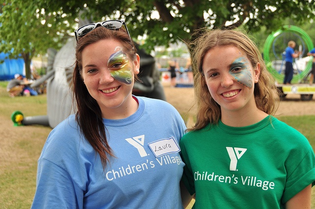 At The YMCA Children's Village at Kempenfest