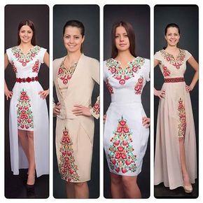 (3) Gallery.ru / Фото #1 - Українська вишивка. Сучасний вишитий одяг. - Markira