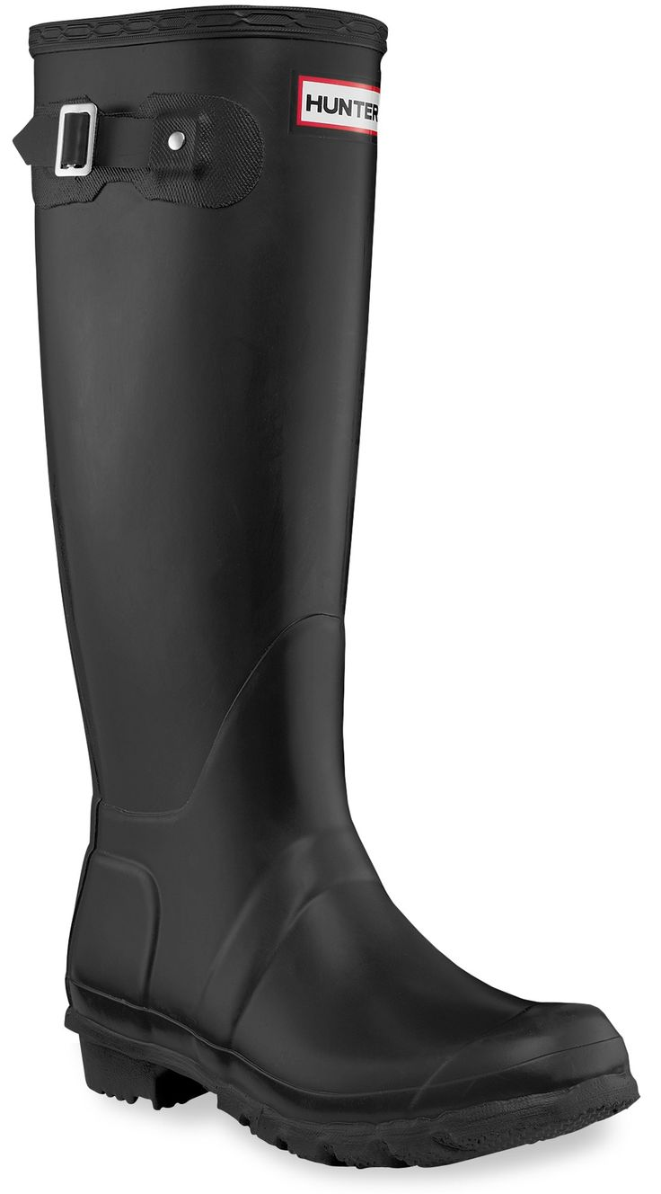 Hunter Matt black rain boots, sometimes at Costco, usually over $100. I'll take a pair used if u can find it! Size 7