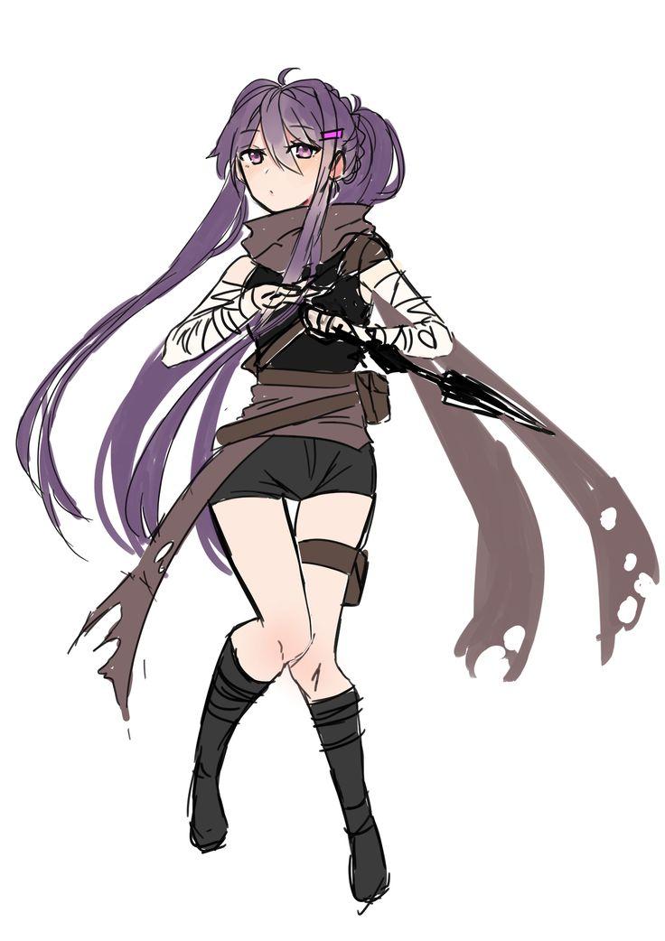 Yuri In a Fantasy AU Outfit~ ❤️Doki Doki Literature Club!❤️